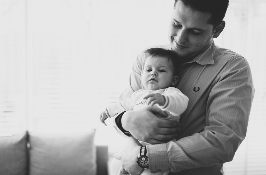 Lifestyle babyfotografie aan huis in Veghel