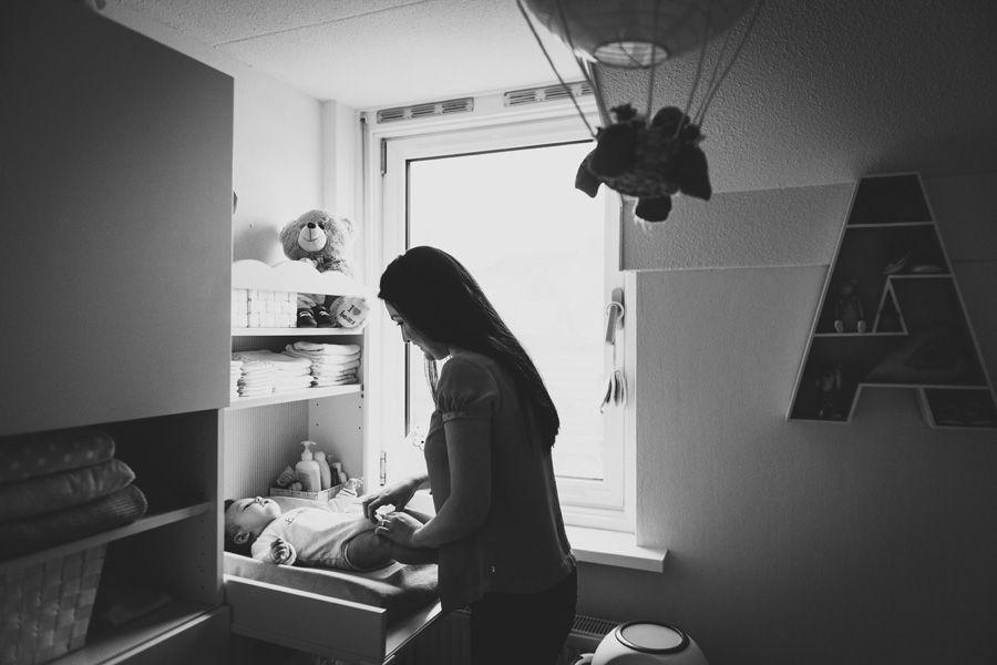 Lifestyle babyfotografie aan huis Veghel