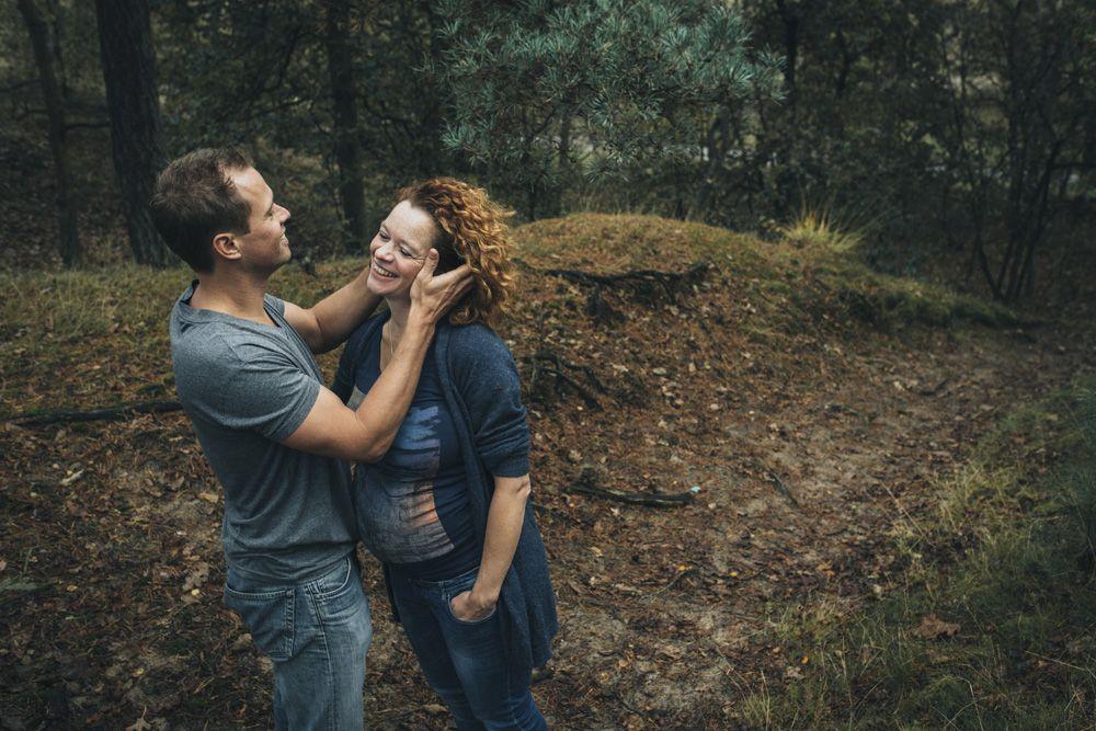 stoere alternatieve zwangerschapsfotografie