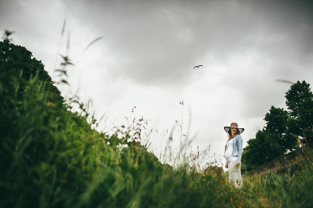 Stoere zwangerschapsfotografie Den Bosch