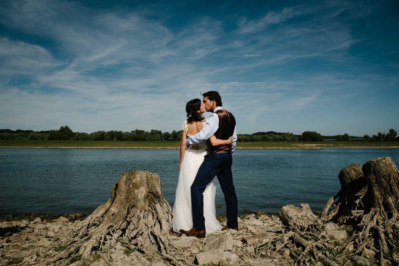 bruidsfotografie fotoshoot buiten