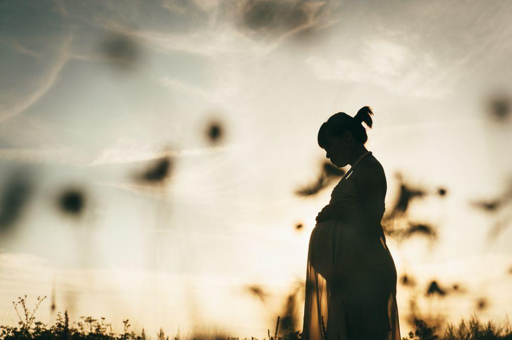 creatieve zwangerschapsfotografie den bosch