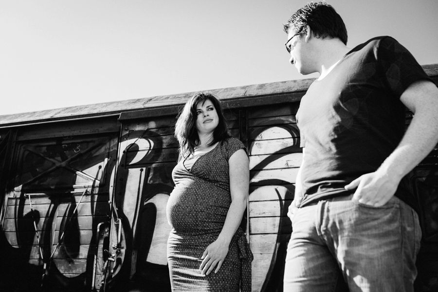 Moderne zwangerschapsfotografie Tilburg