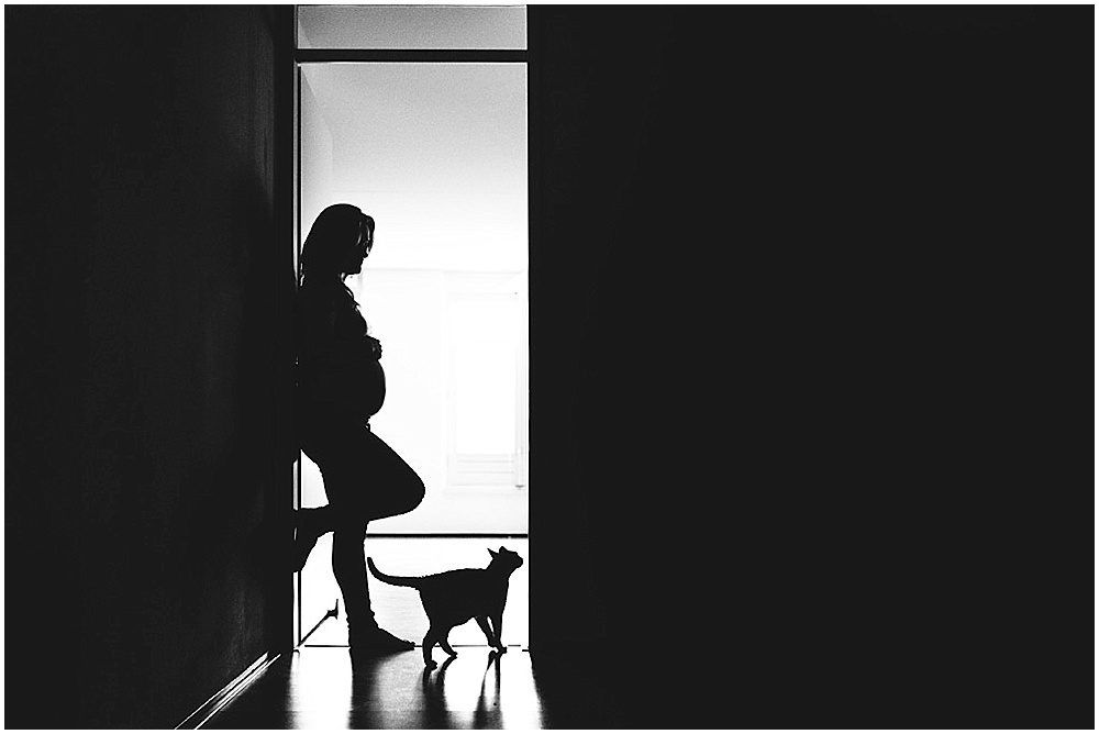 Ramona [stoere zwangerschapsfotografie Rotterdam]
