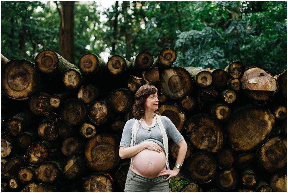 stoere zwangerschapsfotoshoot