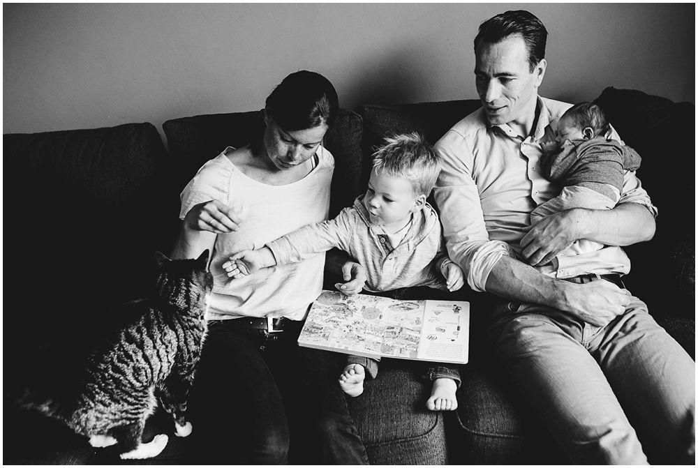 lifestyle fotograaf newborn Amersfoort, documentaire familiefotografie