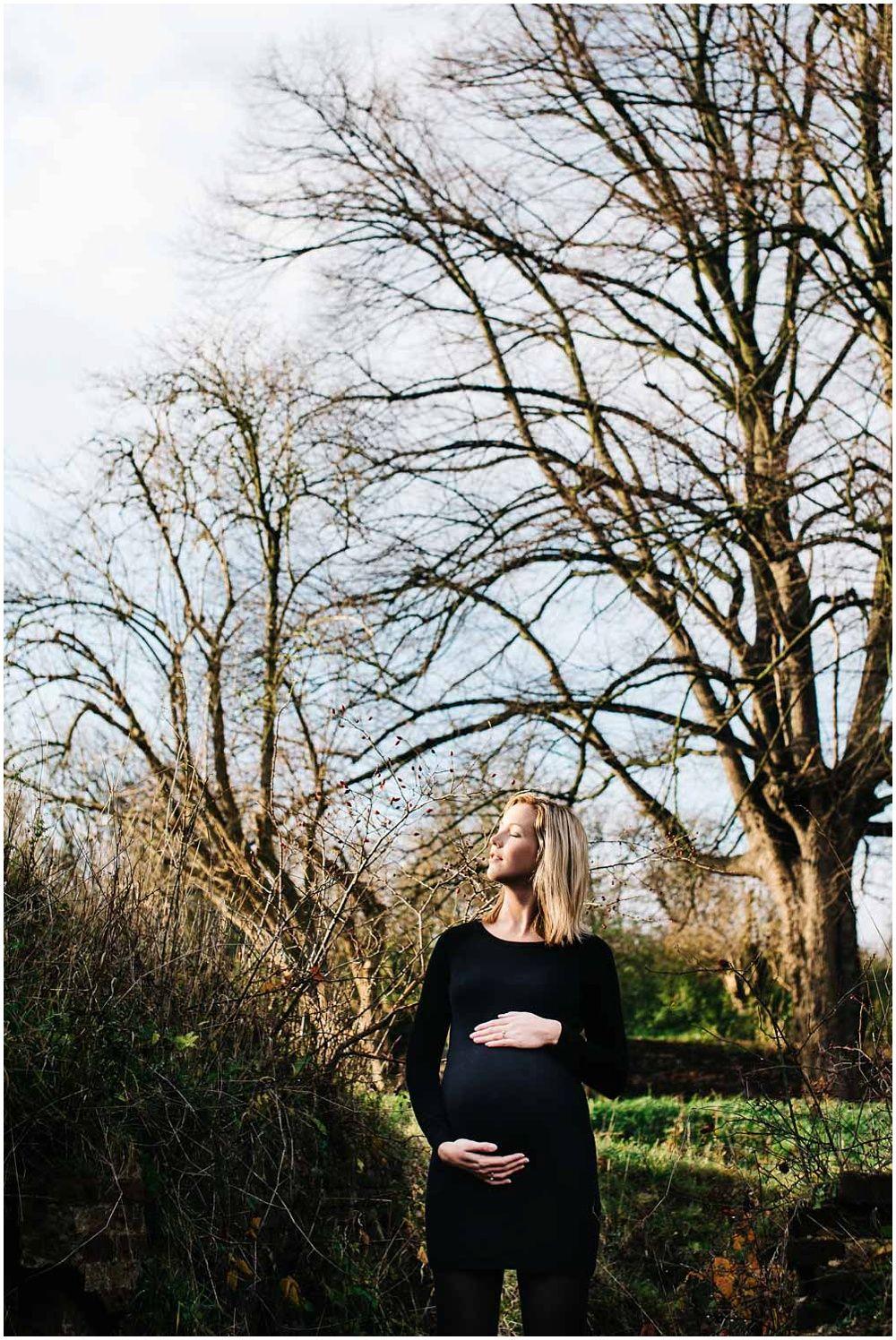 Stoere zwangerschapsfotografie den bosch eindhoven