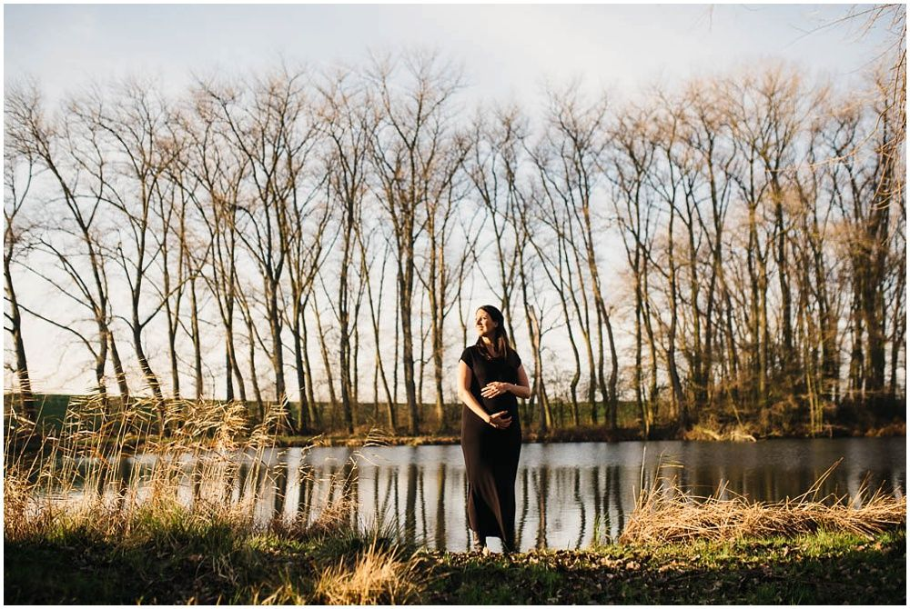 artistieke zwangerschapsfotografie Den Bosch fotoshoot zwangerschap Rosmalen