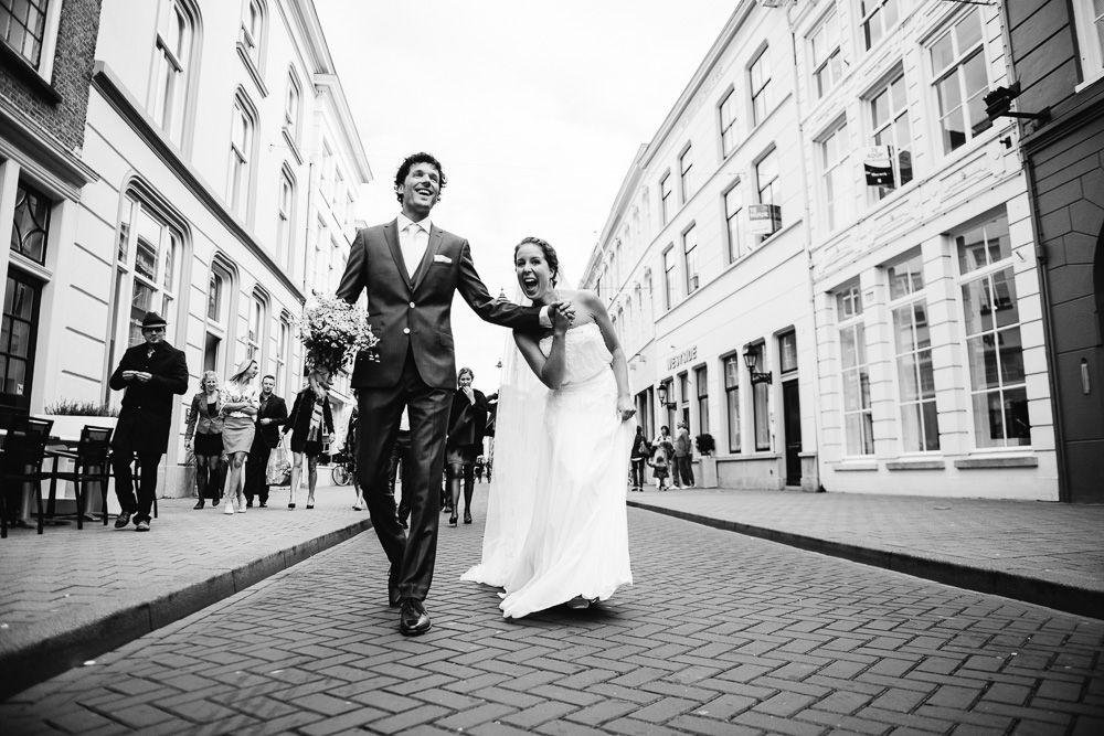 journalistieke bruidsreportages met humor