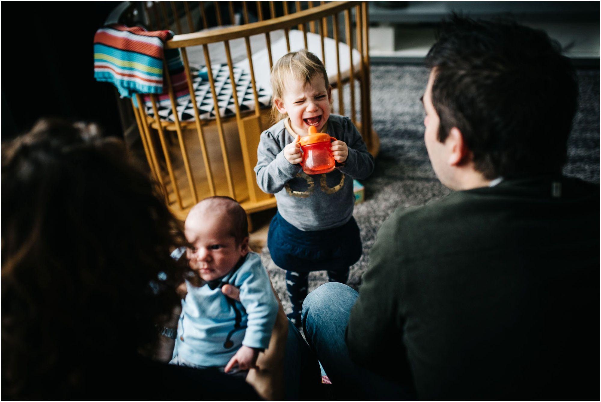 ongedwongen documentaire familiefotografie Den Bosch