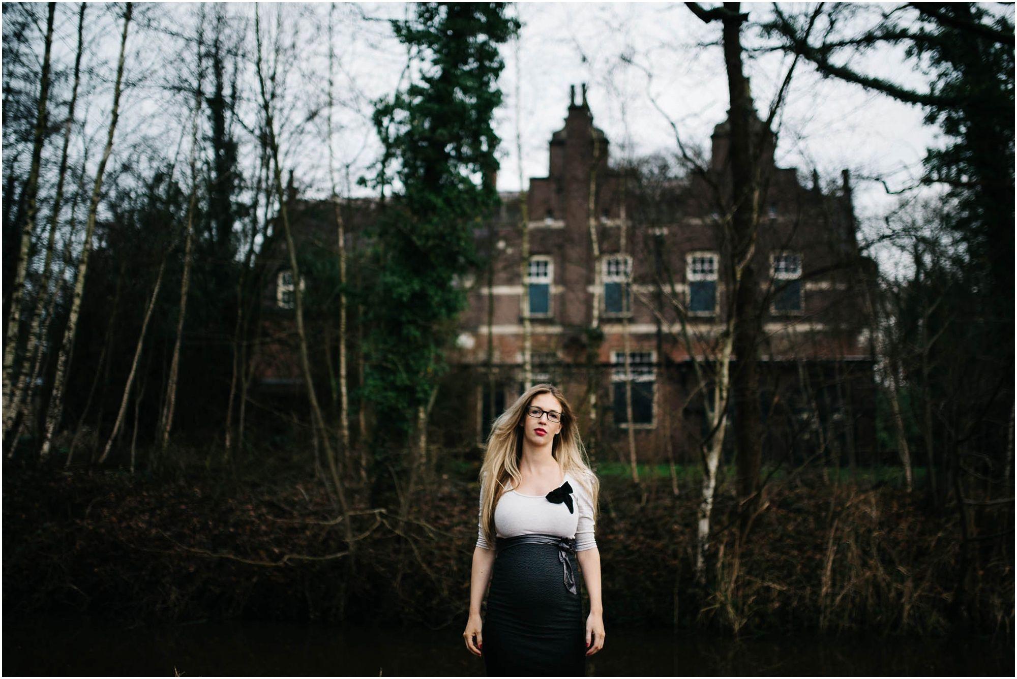 stoere zwangerschapsfotografie Den Bosch fotograaf zwangerschap