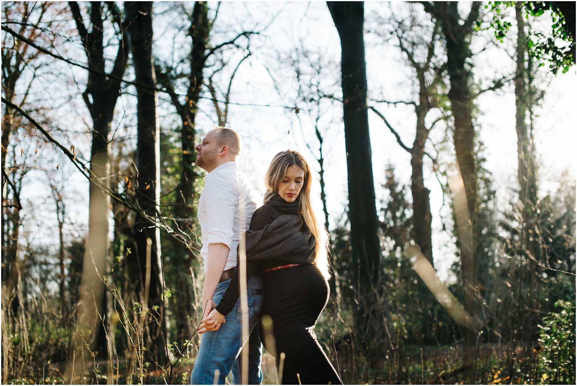 stoere zwangerschapsfotografie Den Bosch fotograaf zwangerschap fotoshoot met partner