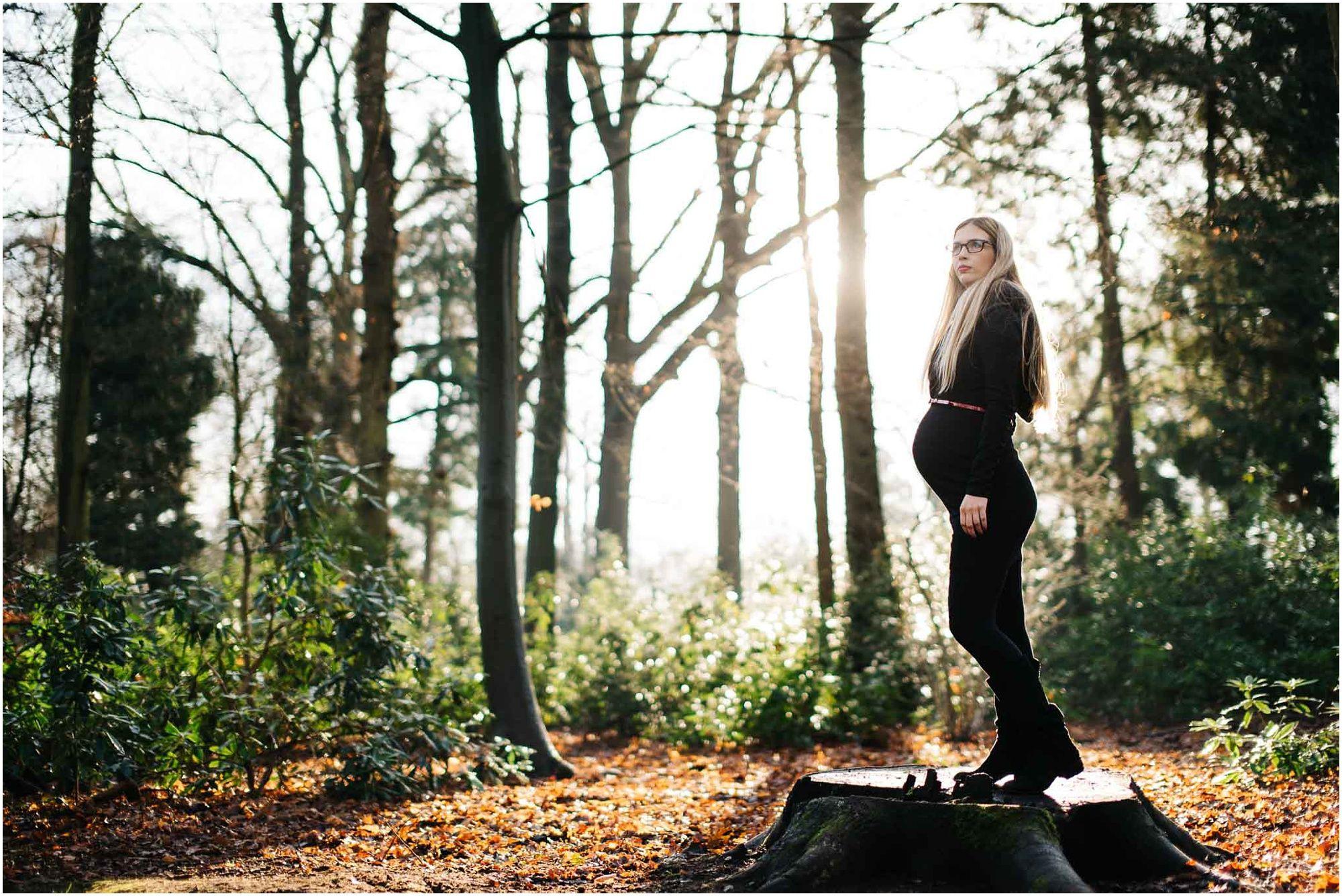 stoere zwangerschapsfotografie Den Bosch fotograaf zwangerschap fotoshoot