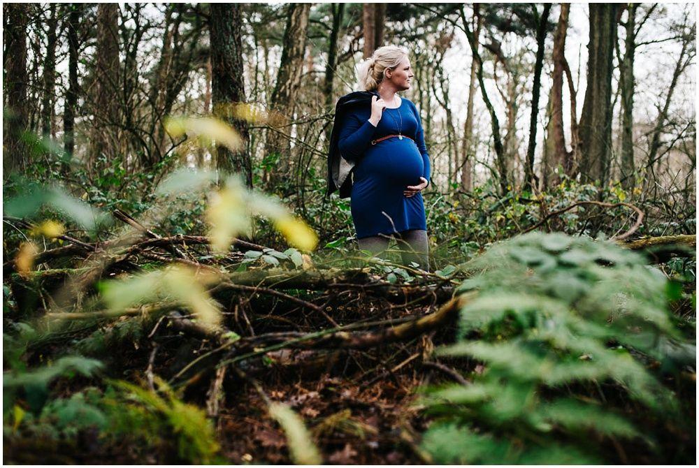 stoere zwangerschapsfotoshoot fotograaf zwangerschap Den Bosch