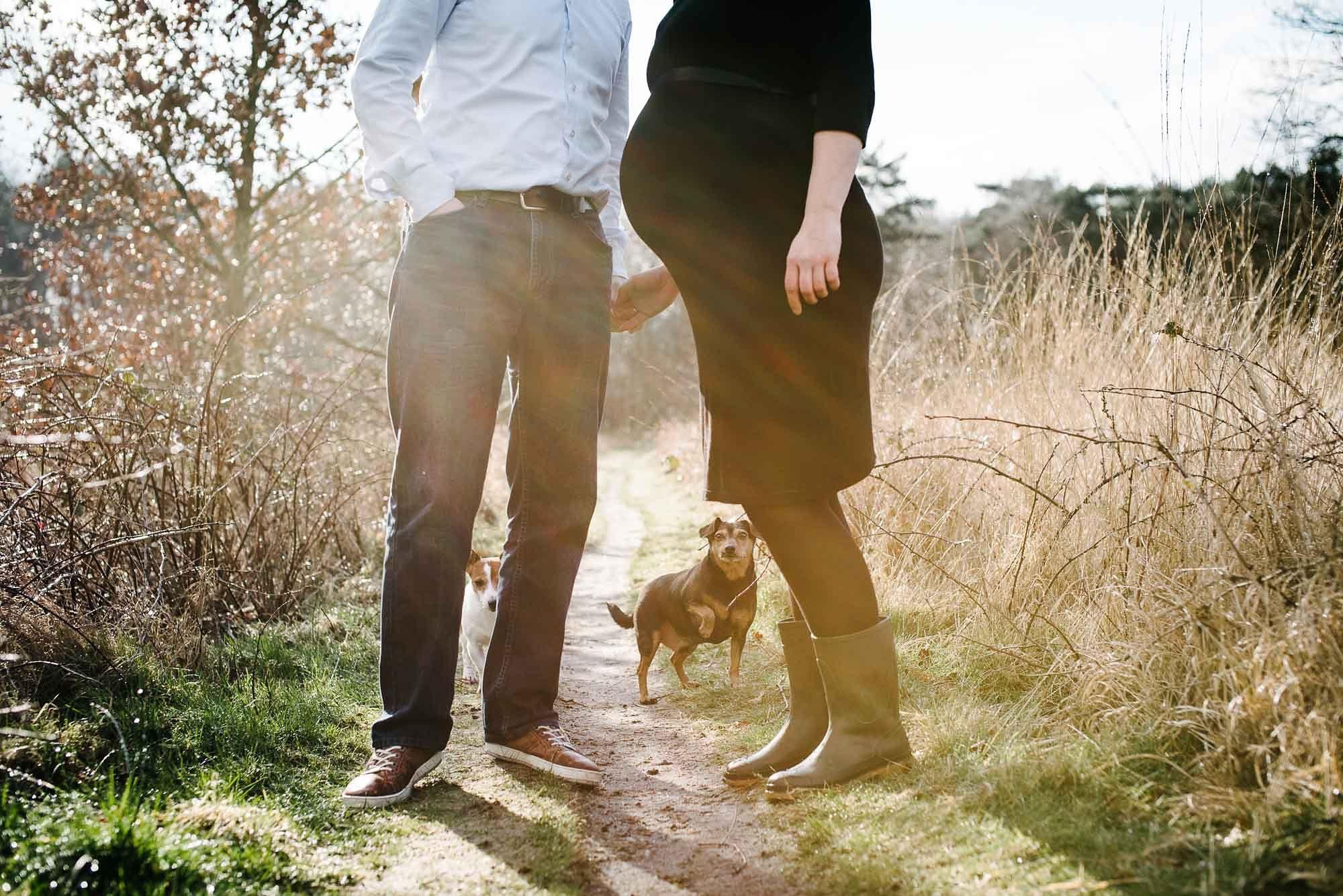 zwangerschapsfotografie Vught fotograaf zwangerschap Den Bosch fotoshoot zwangerschap met hond