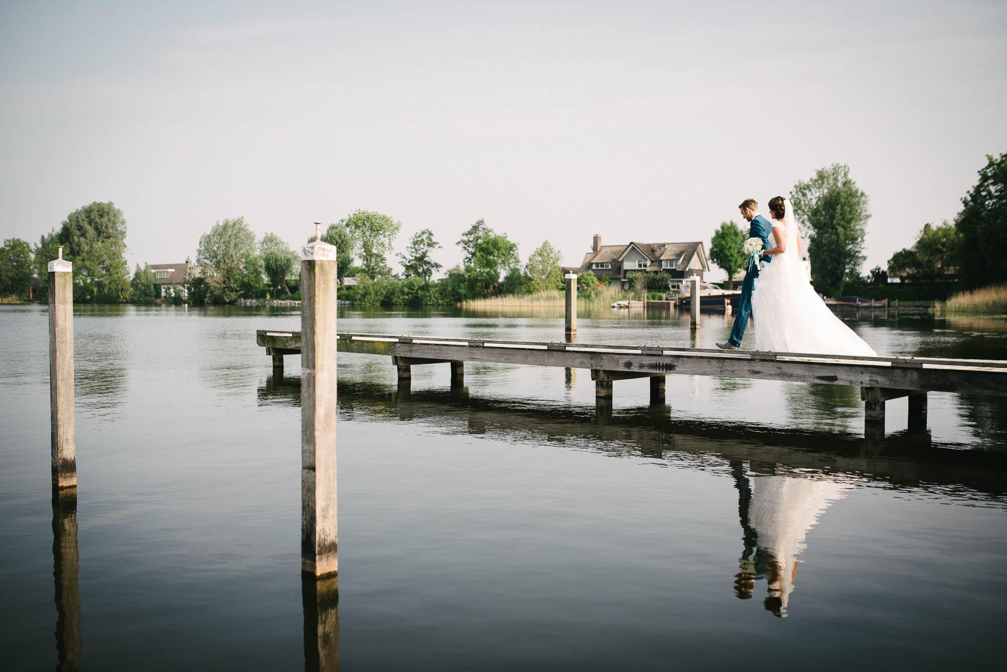 bruidsfotograaf utrecht buiten trouwen