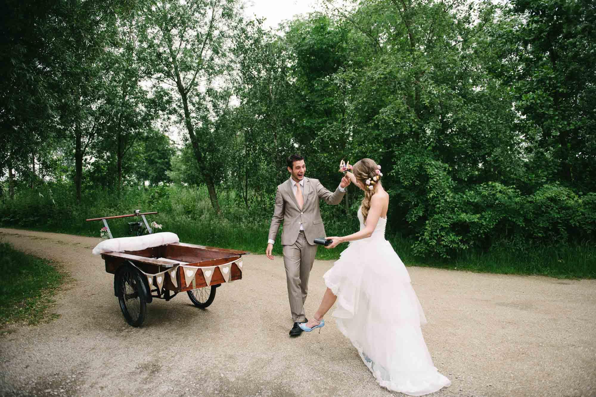 trouwen met bakfiets