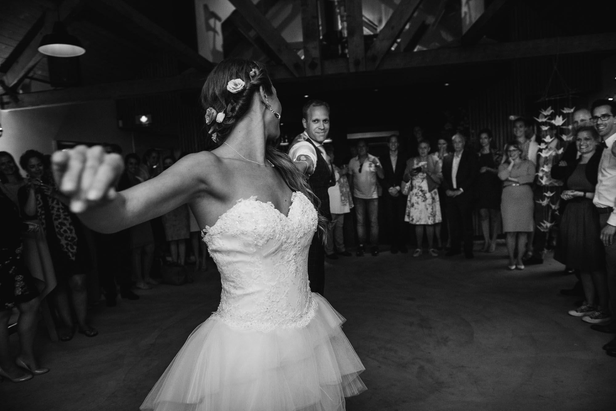 openingsdans bruiloft Delft