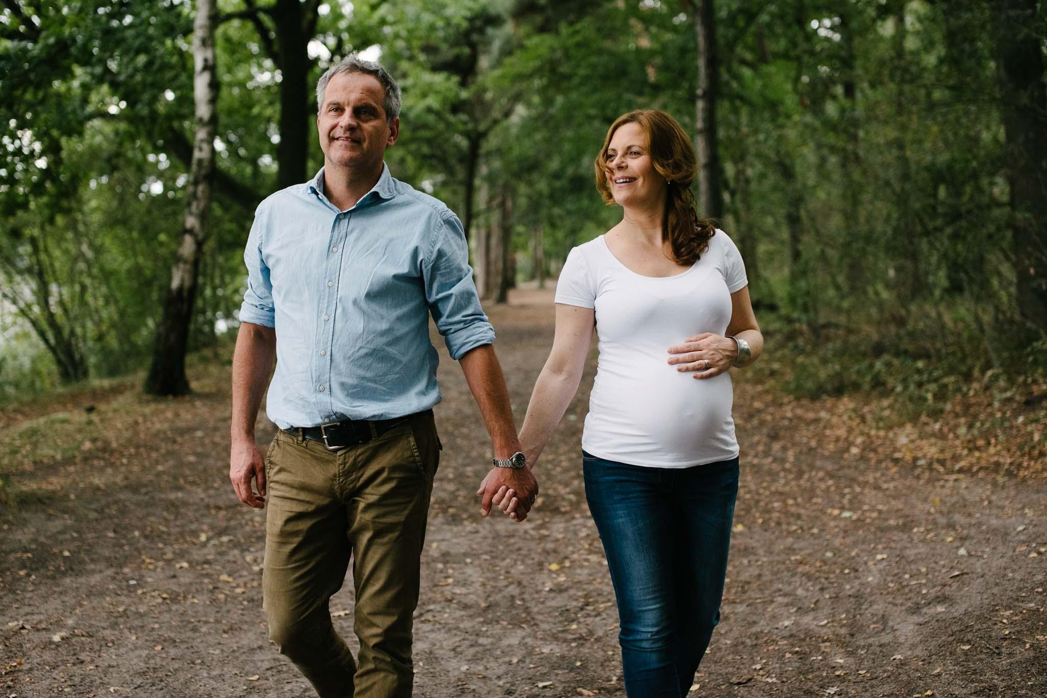 stoere originele zwangerschapsfoto's