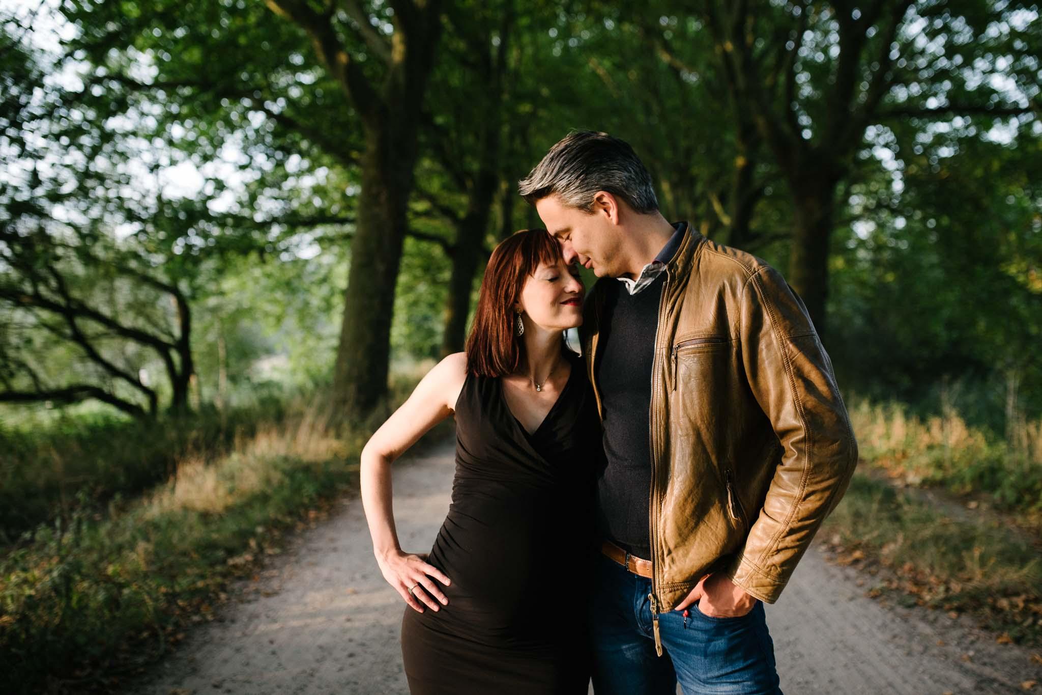 stoere zwangerschapsfotografie op locatie