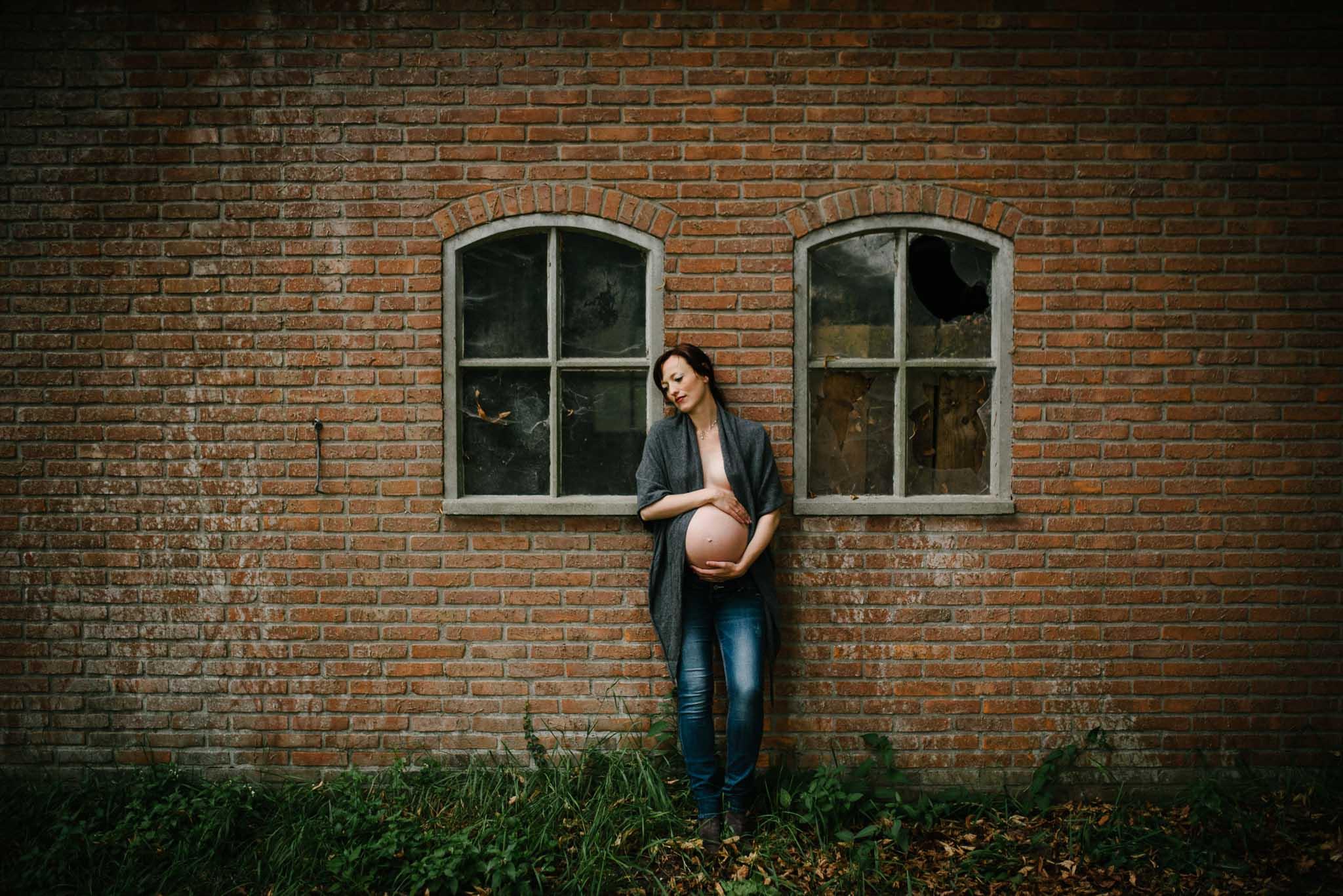 originele stoere foto's zwangerschap