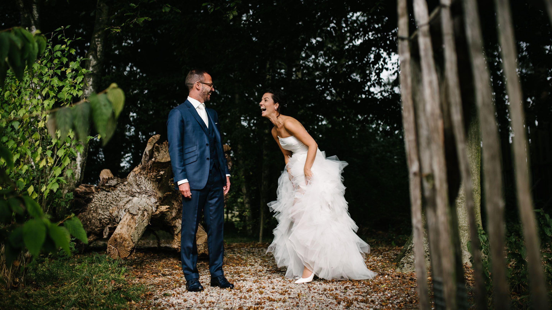 spontane fotoshoot bruiloft