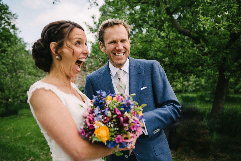 spontane fotos bruiloft