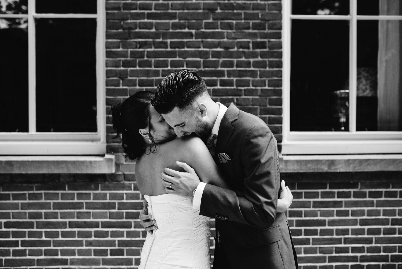bruidsreportage spontane trouwfotos
