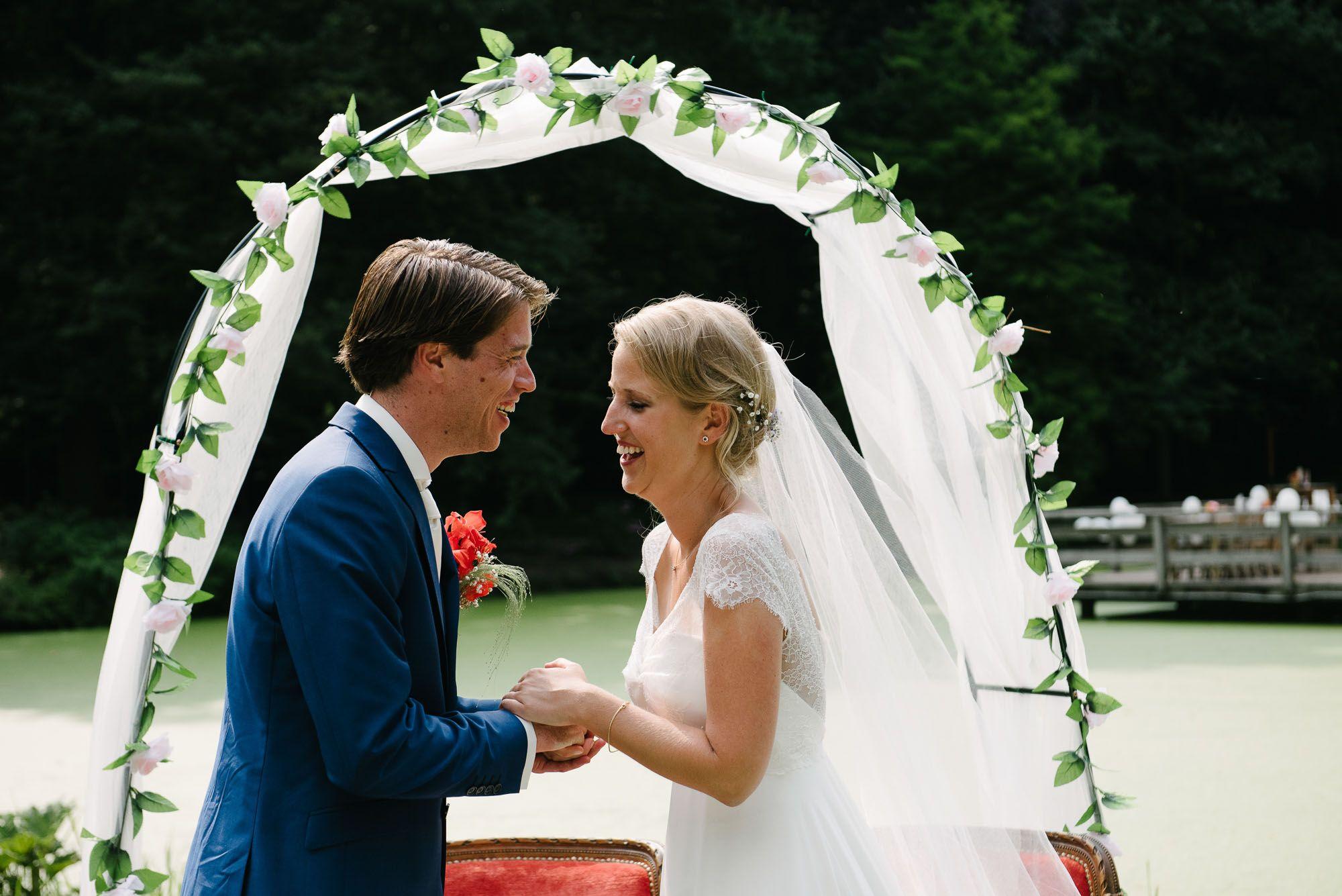 journalistieke bruidsfotografie trouwfotograaf Leiden