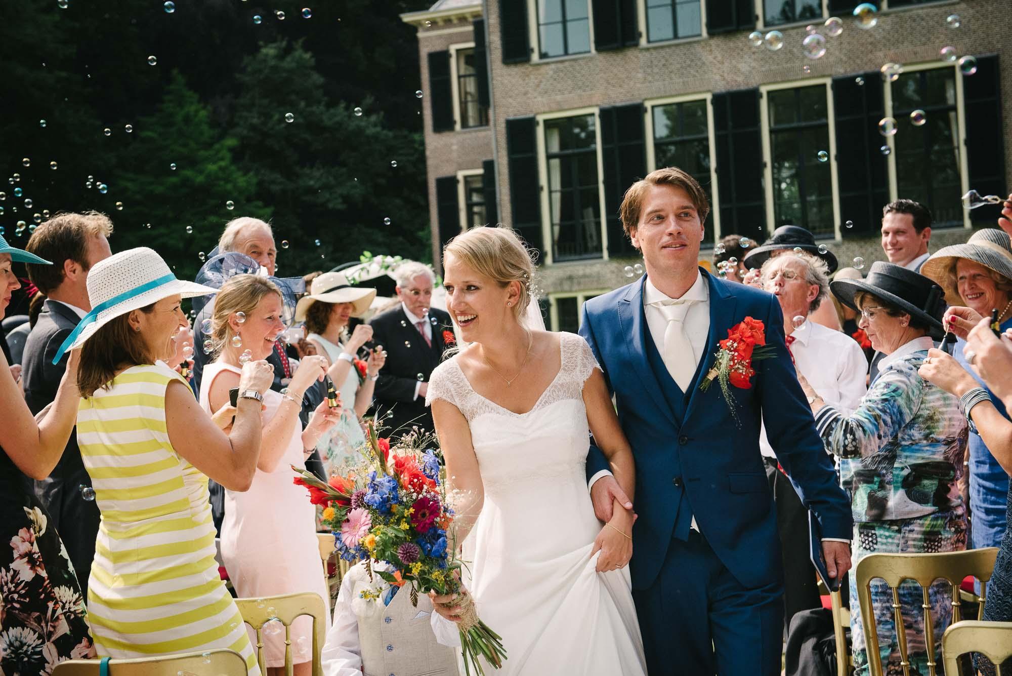 spontane trouwfotos Leiden