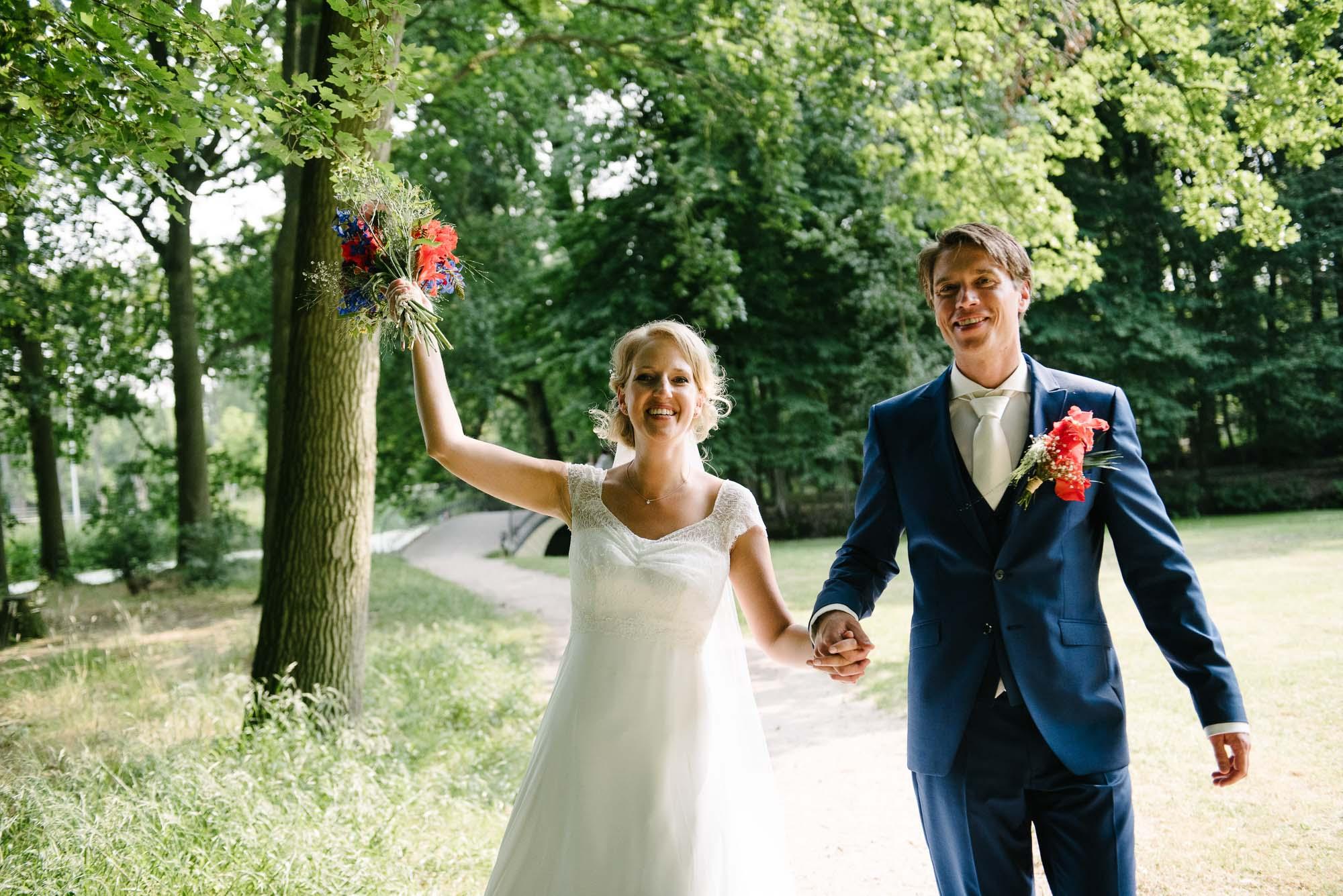 creatieve bruidsfotografie trouwfotograaf Leiden