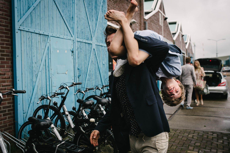 spontane trouwfotos Amsterdam