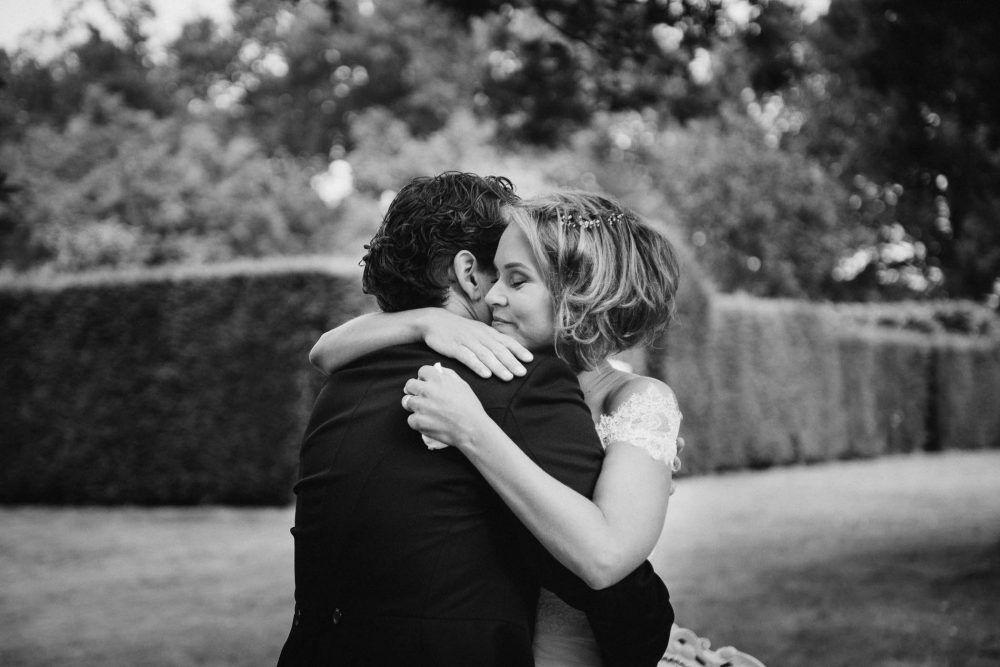 mooie emotionele foto's bruiloft