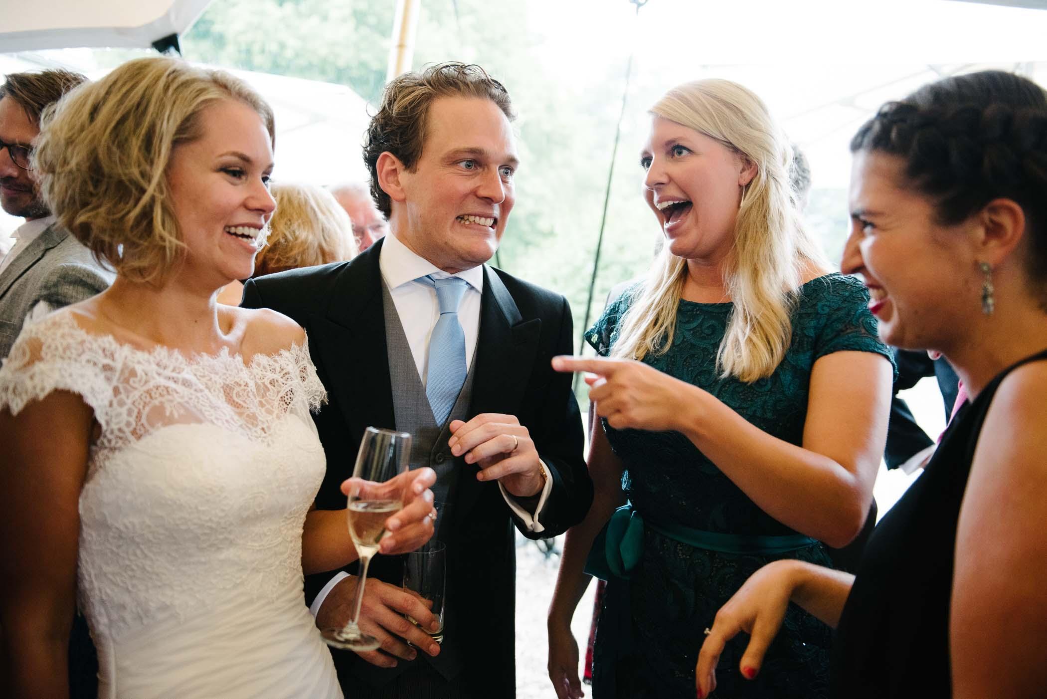 spontane trouwfoto's journalistiek