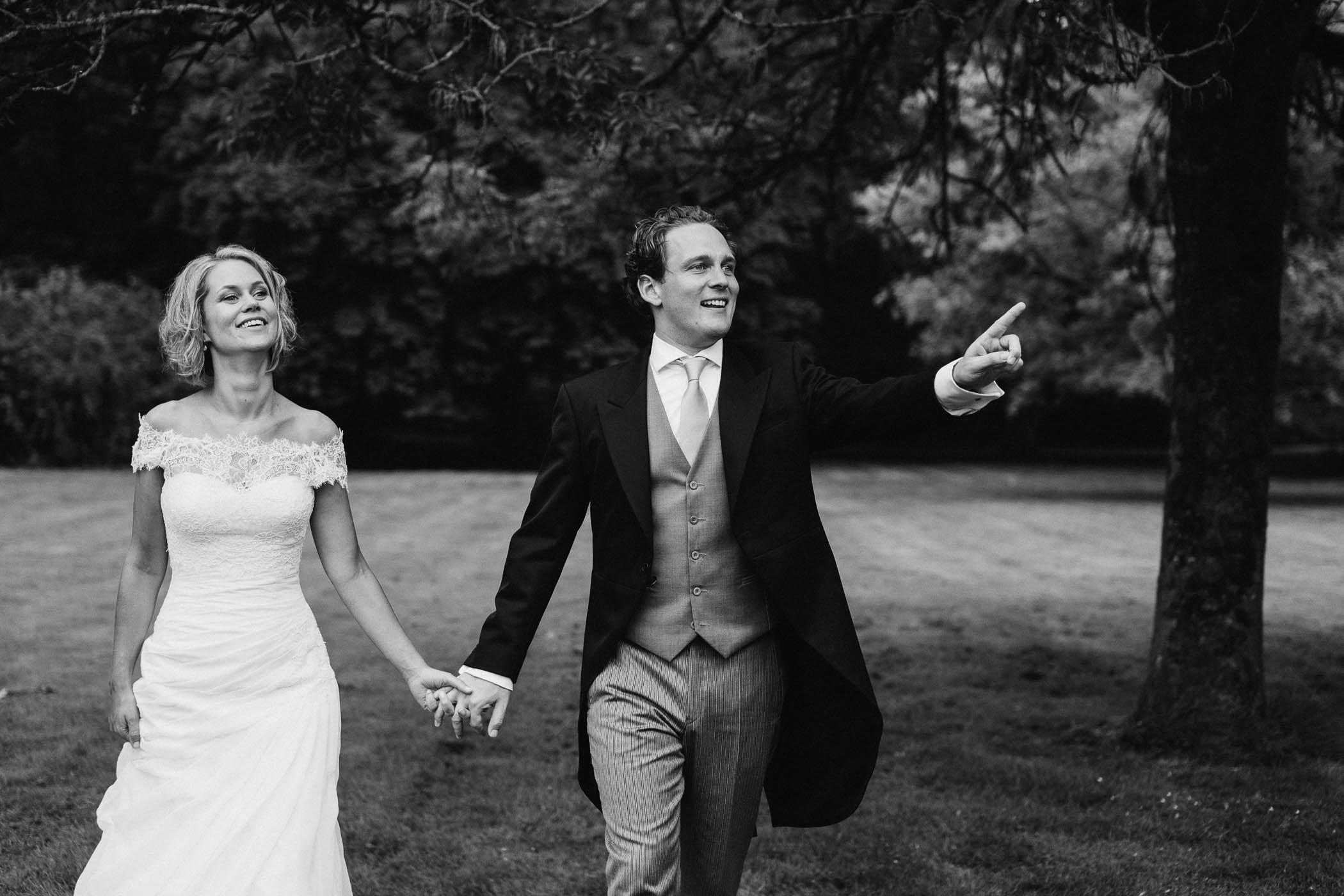 originele bruidsfoto's fotograaf journalistiek fotoshoot
