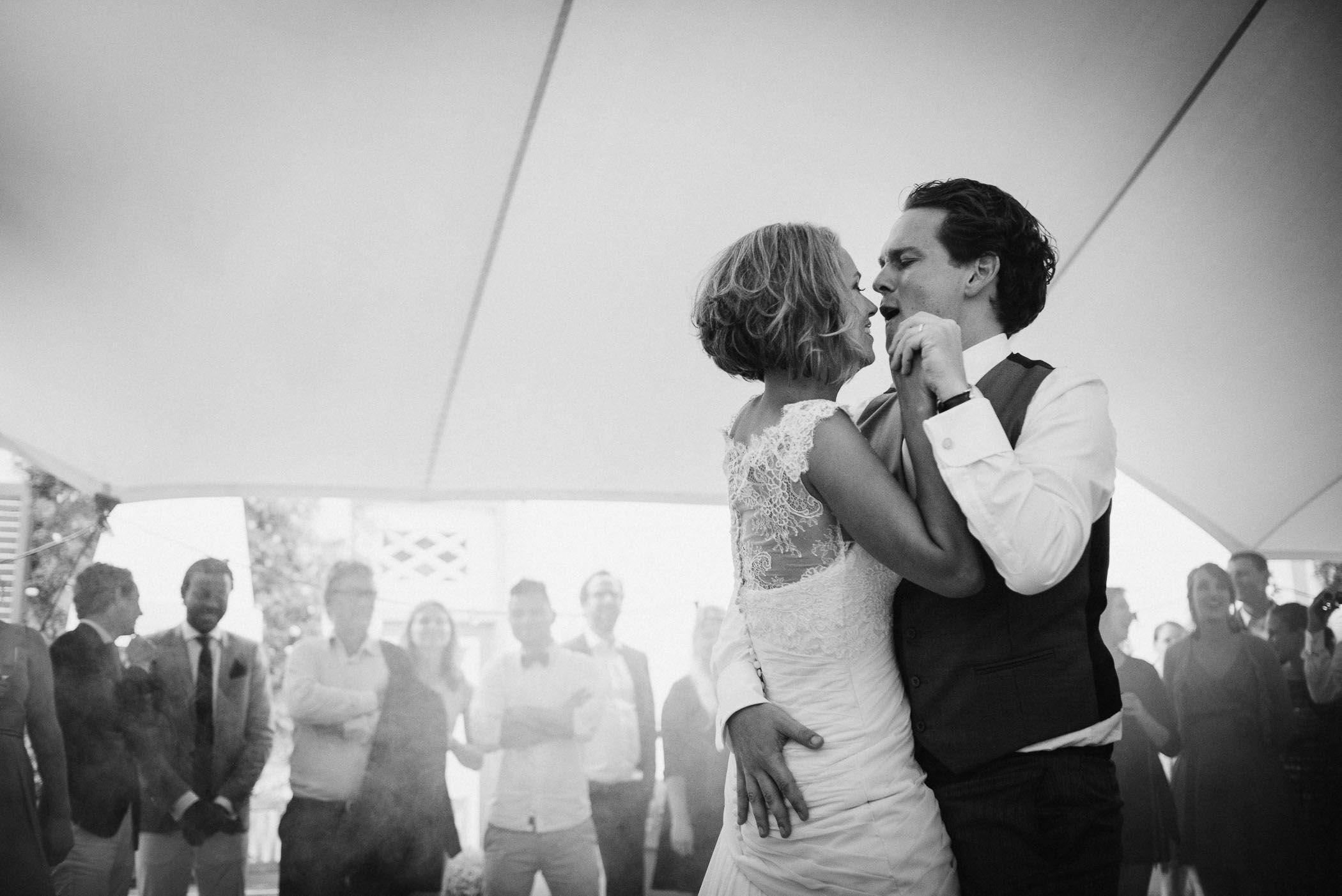 eerste dans bruiloft fotograaf