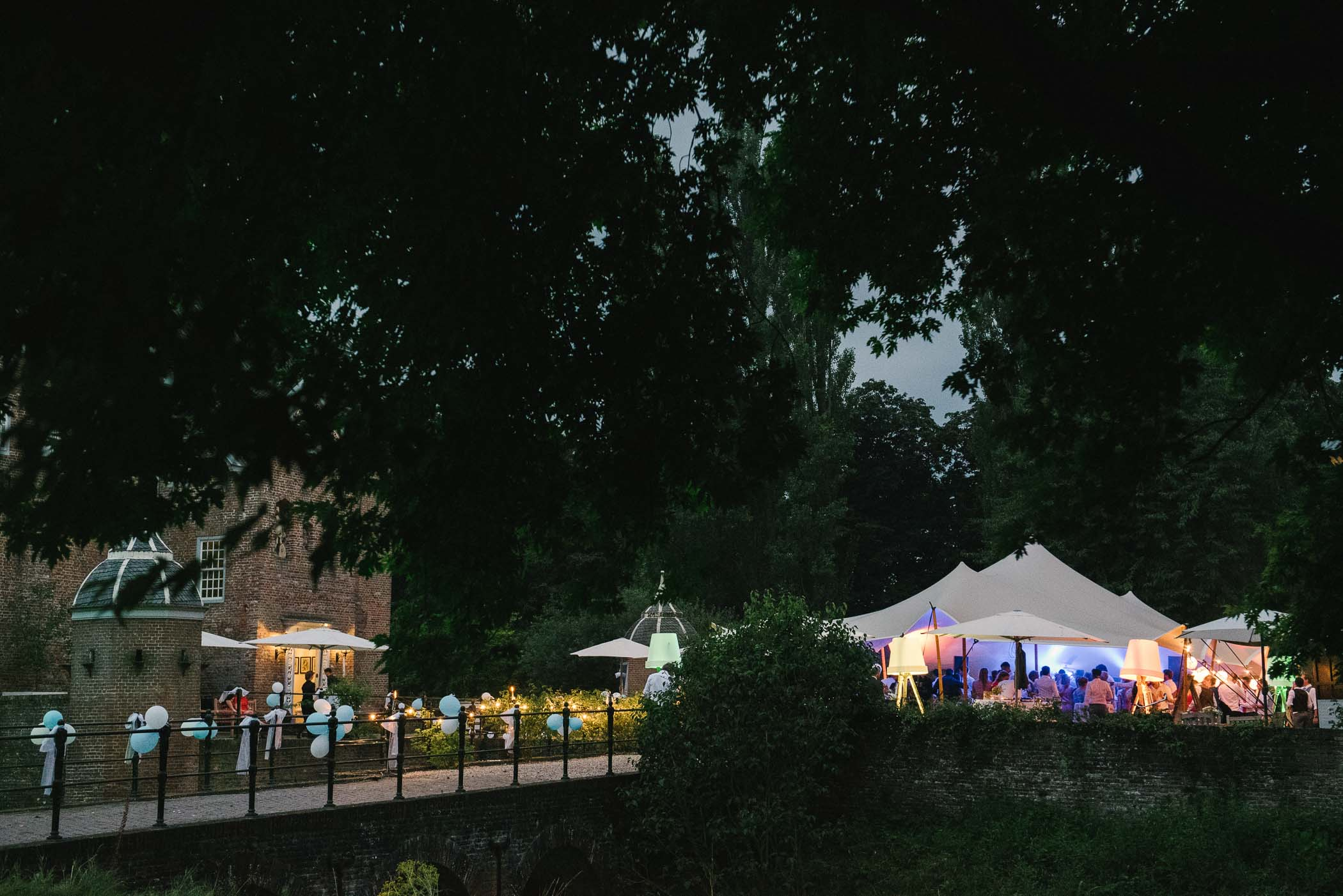 mooiste locaties trouwceremonie buiten trouwfeest