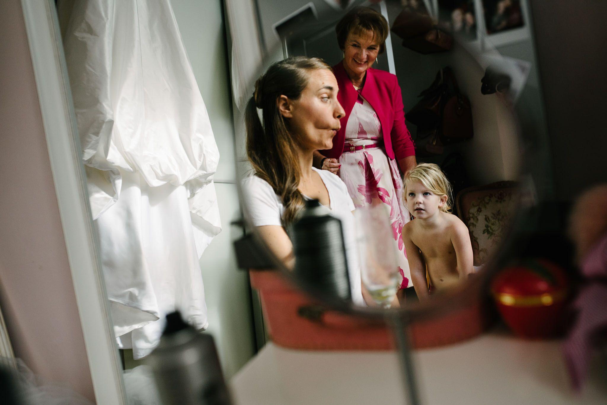 bruidsfotograaf Amsterdam voorbereidingen bruid journalistiek