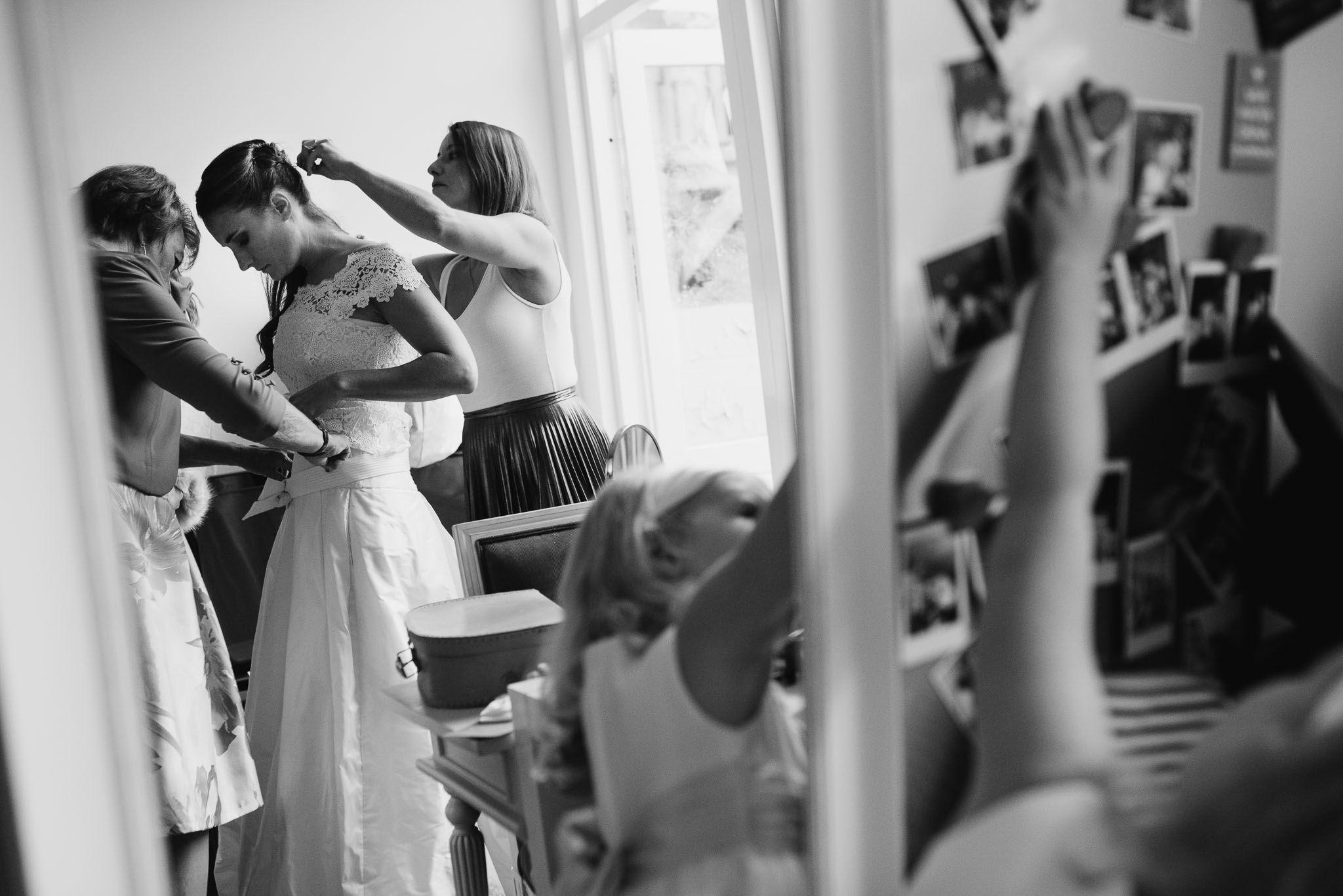 bruidsfotograaf Amsterdam voorbereidingen bruid