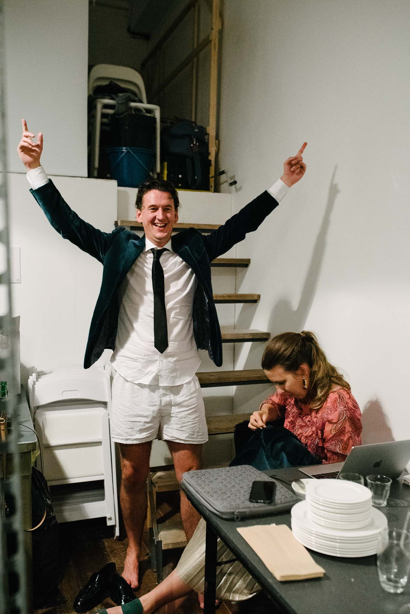 bruiloft in Amsterdam fotograaf journalistiek humor