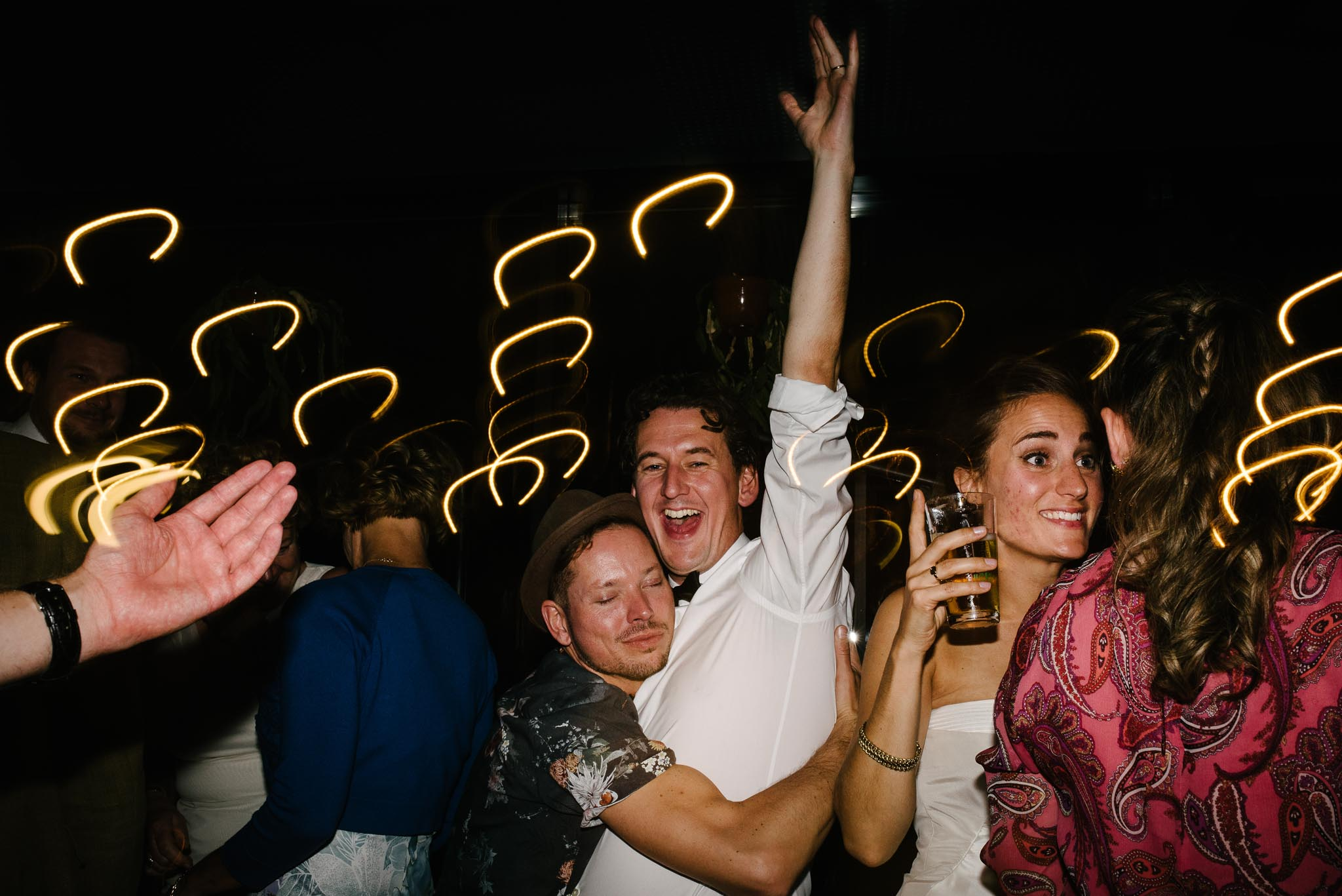 fotograaf bruiloft Amsterdam feest
