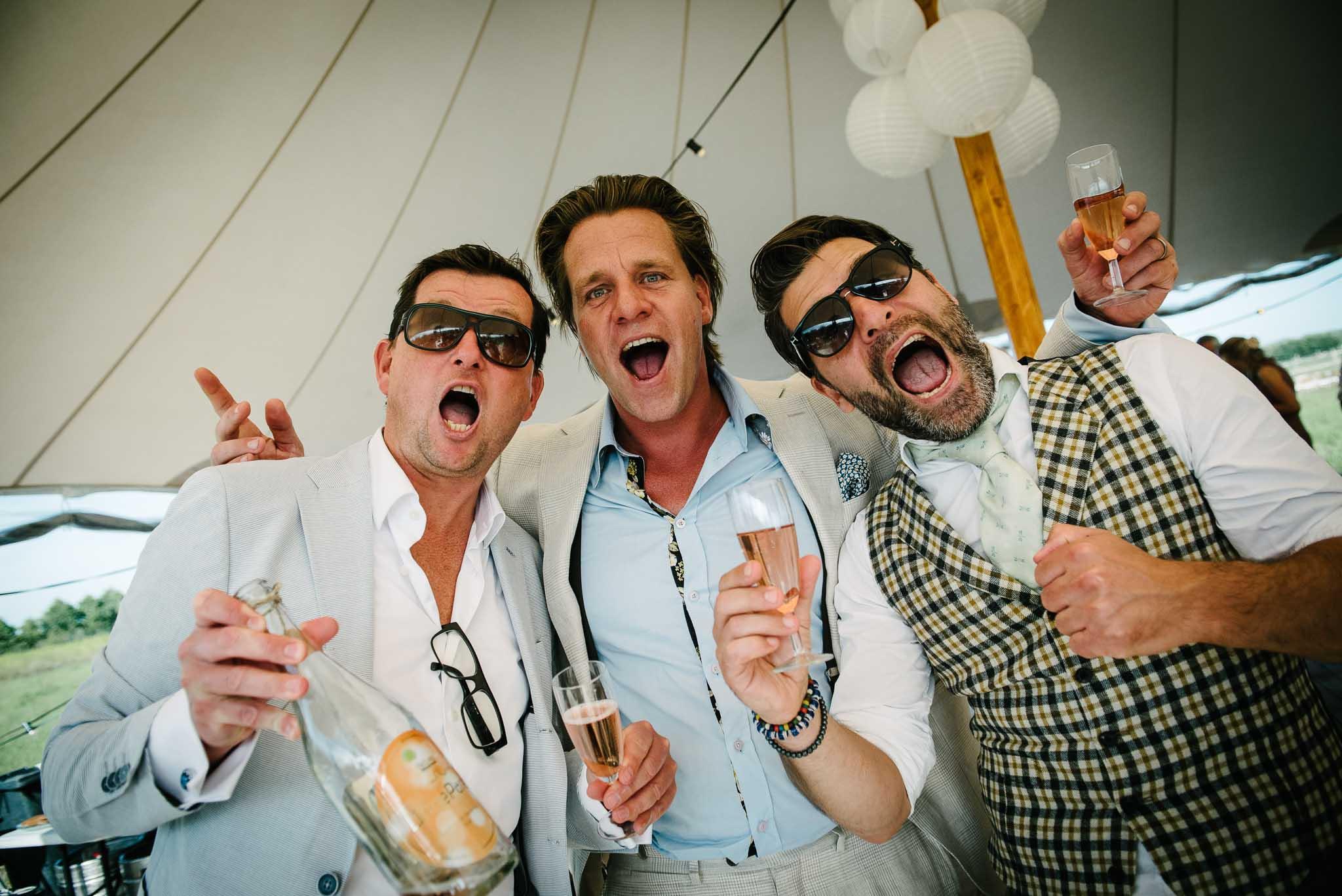 bruidsfotograaf journalistiek festival bruiloft