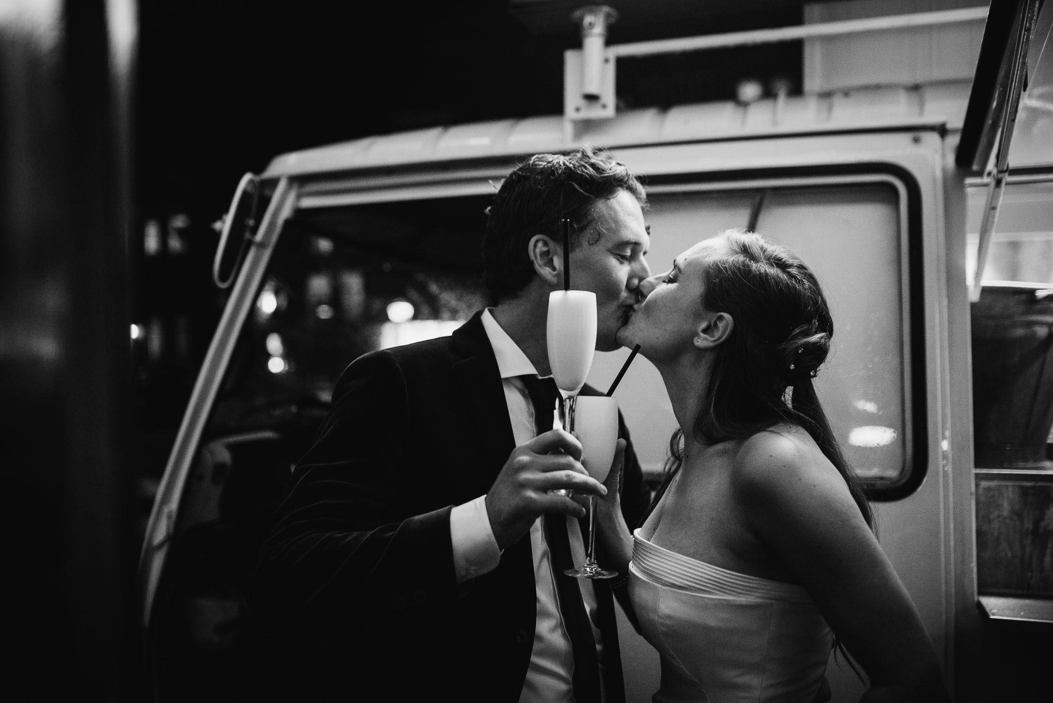 spontane foto's bruiloft fotograaf journalistiek Amsterdam