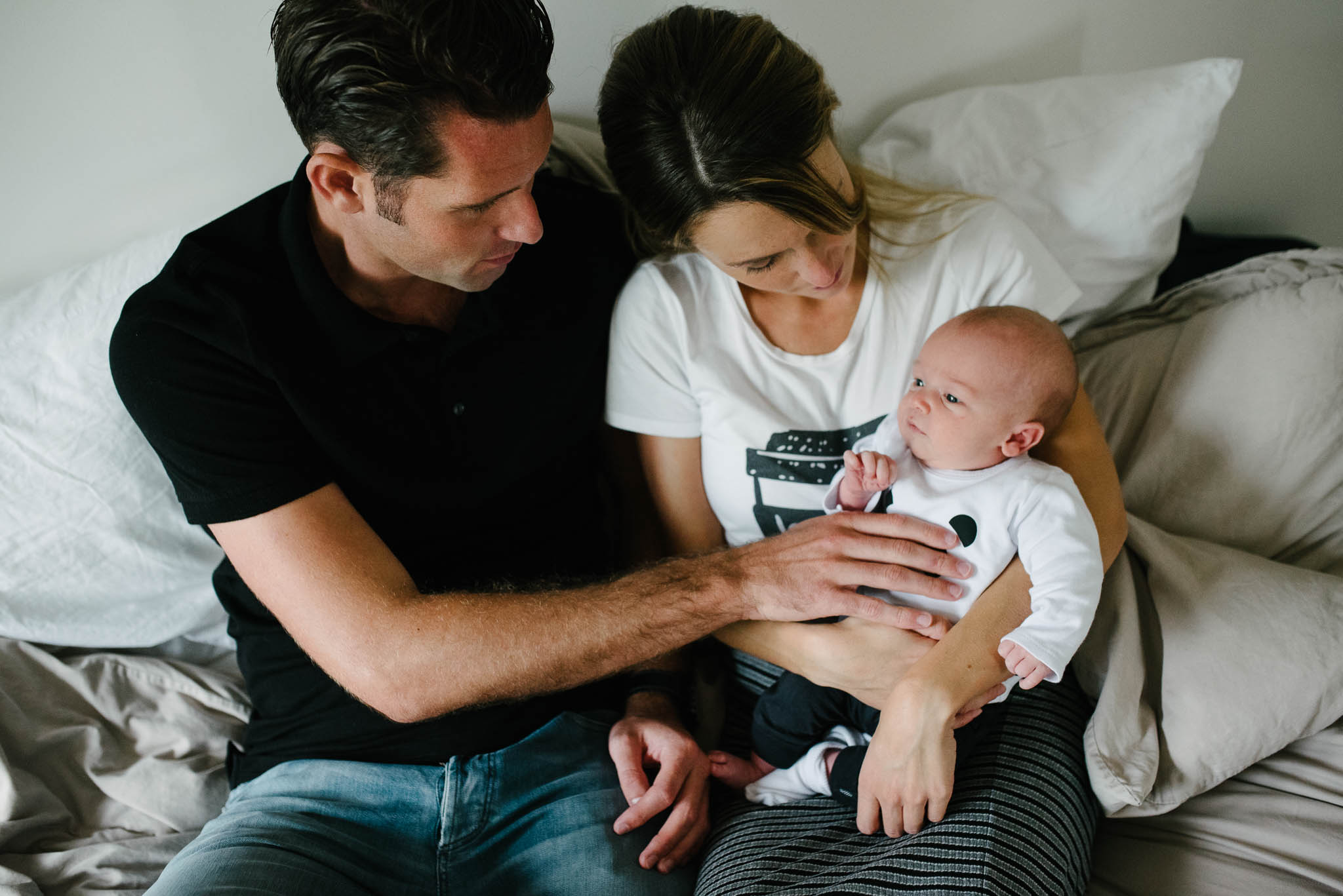 stoere newbornfoto's familie fotograaf