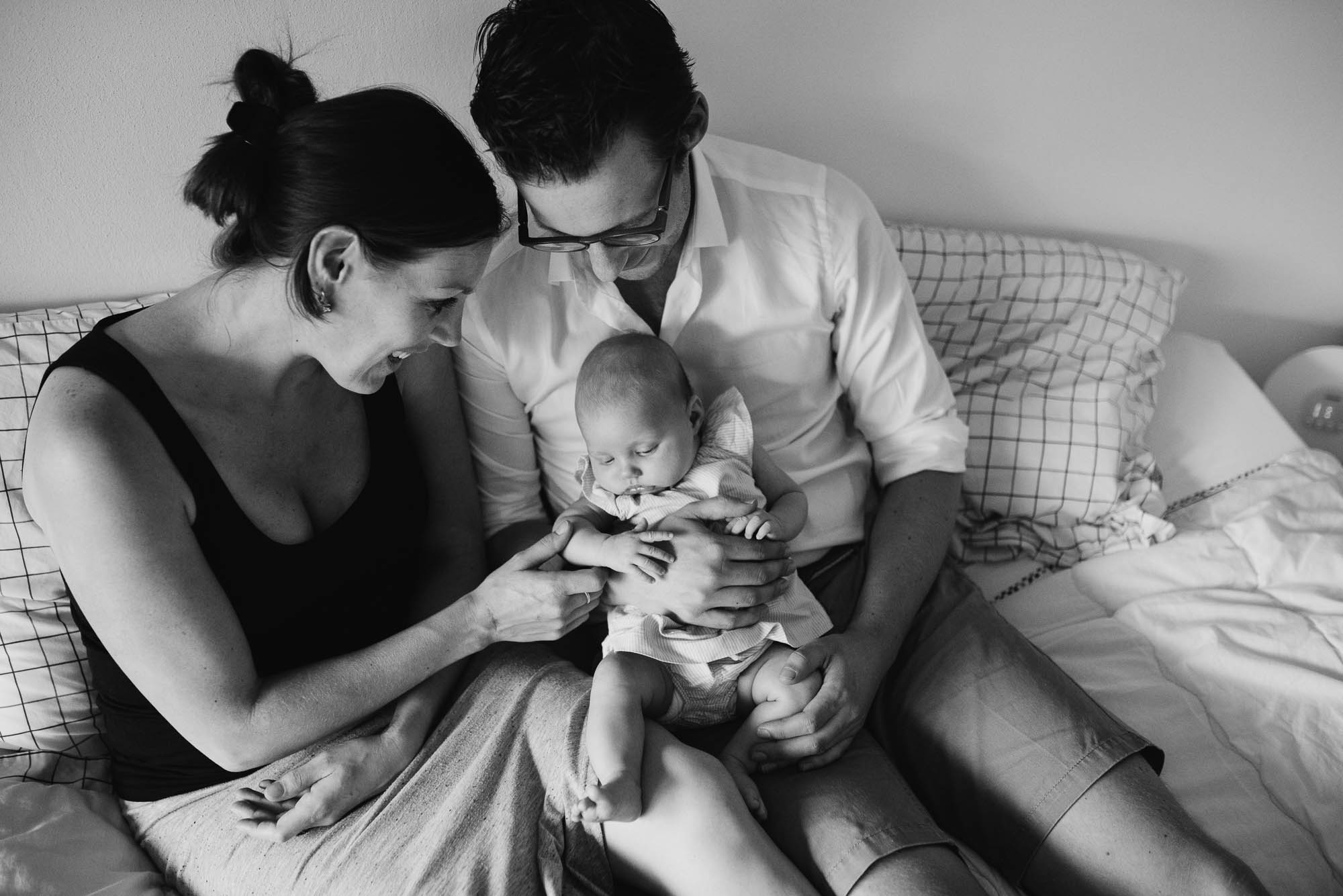 newbornfotograaf niet geposeerd