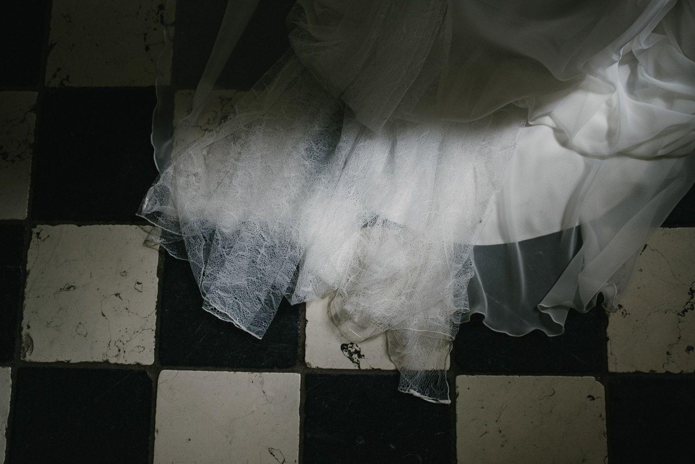 bruidsjurk detail