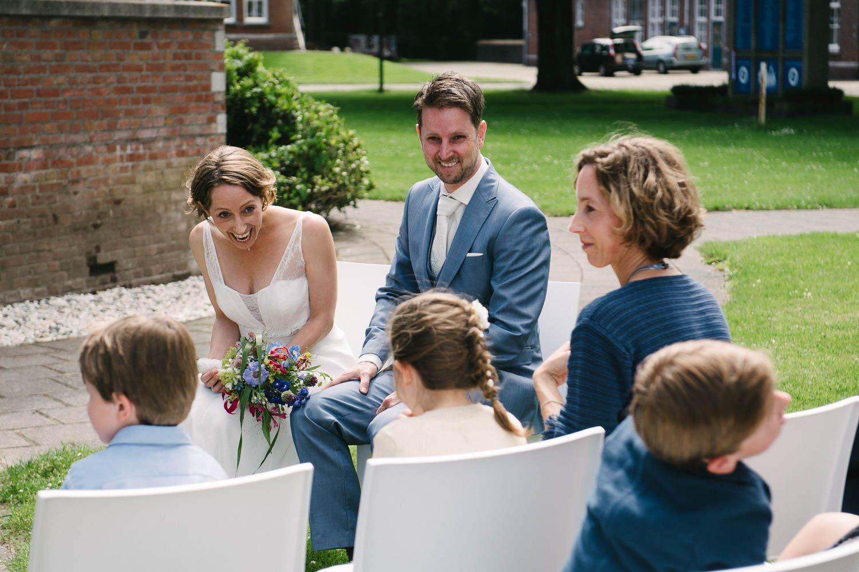 spontane originele bruidsreportage