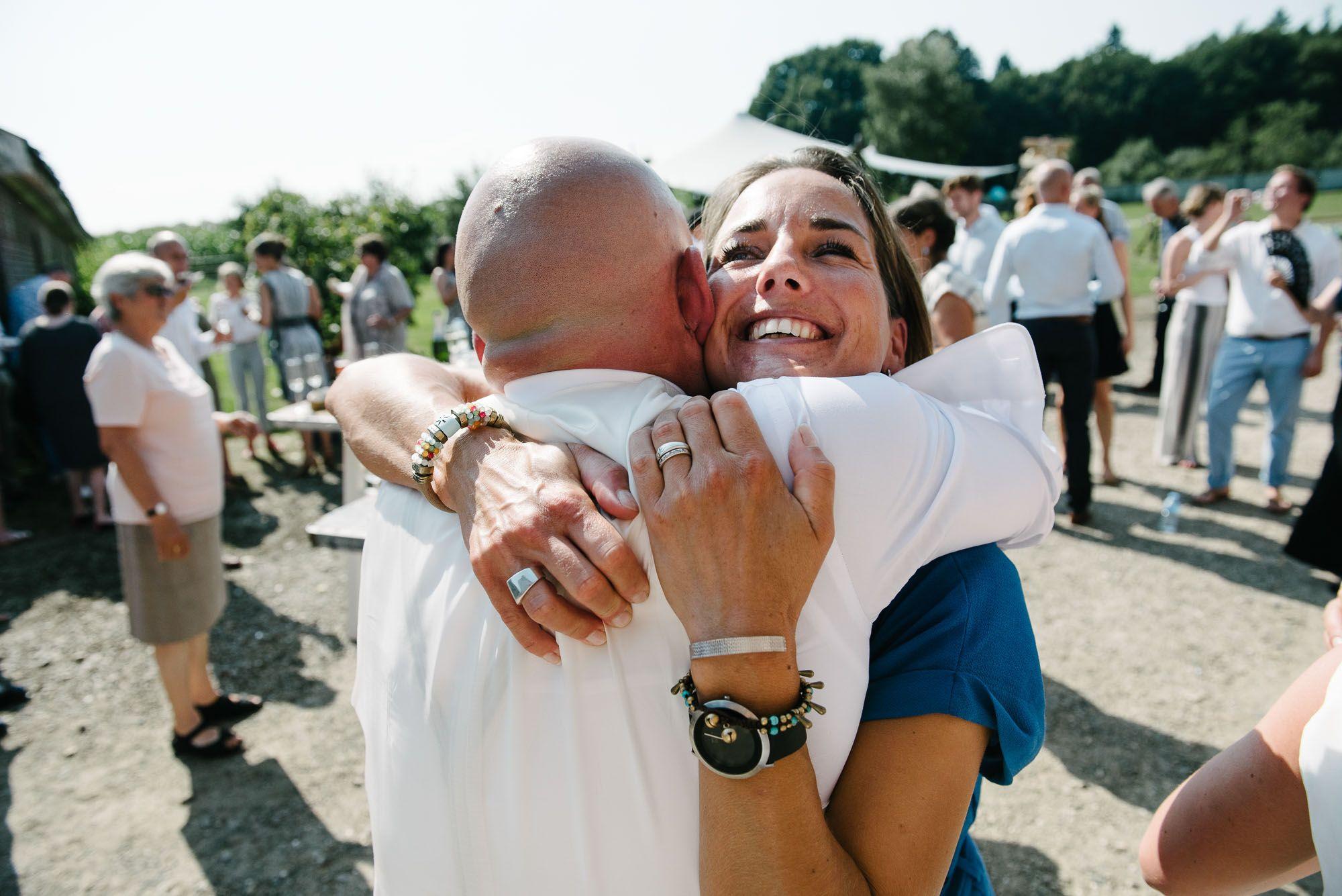 spontane trouwfoto's bruidsfotograaf journalistiek Arnhem