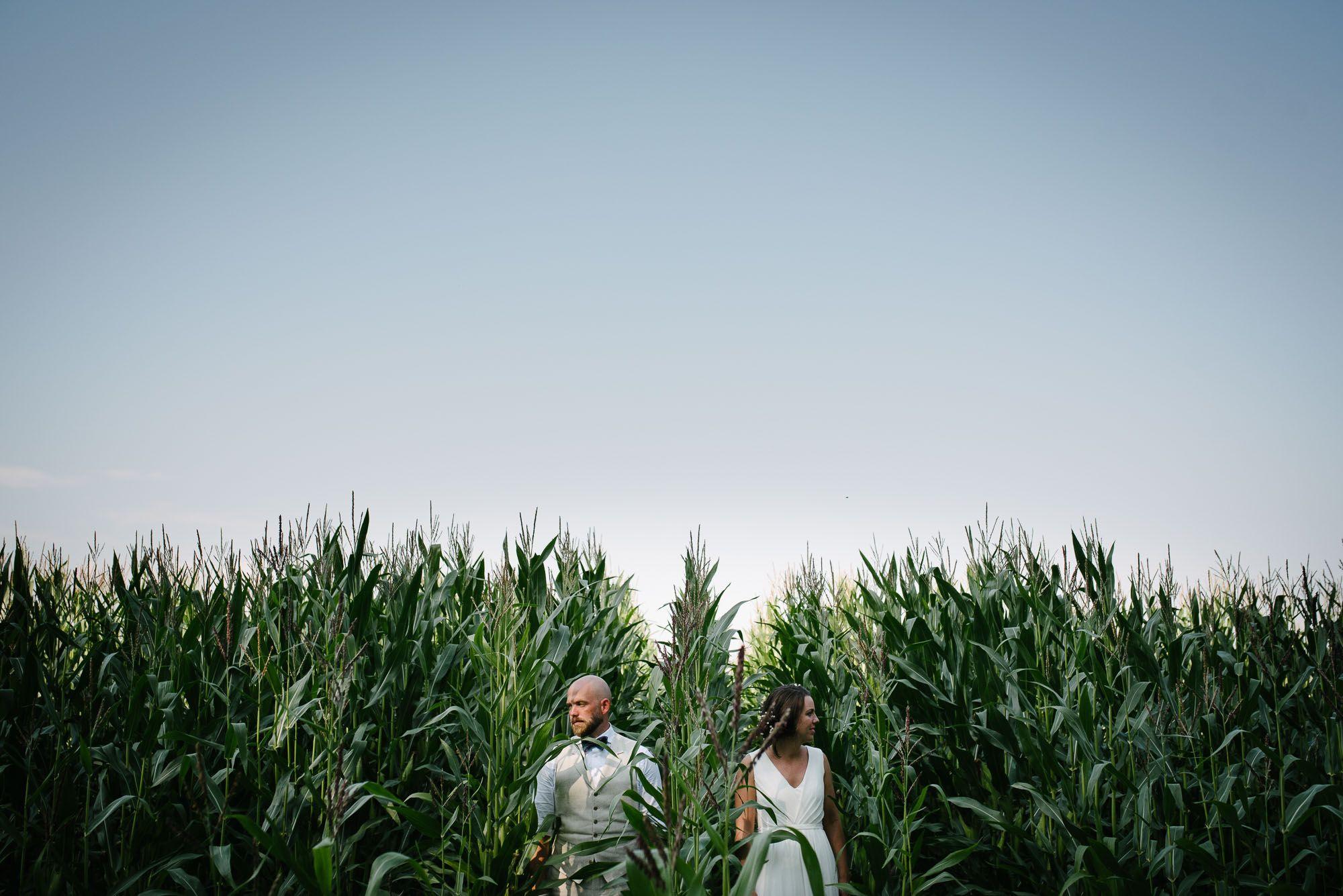 fotograaf bruiloft Arnhem bruidsreportage in het bos