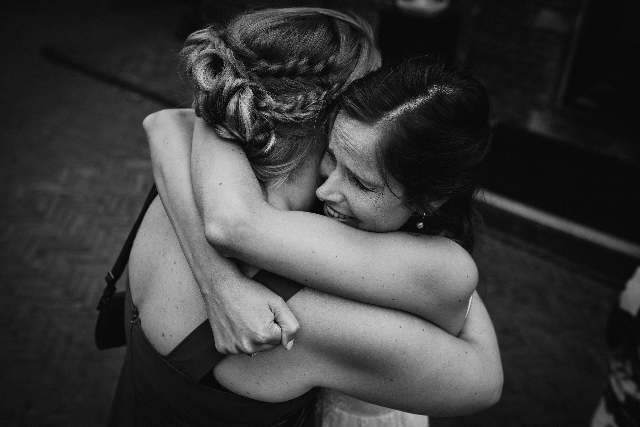 journalistieke bruidsreportage foto's trouwen